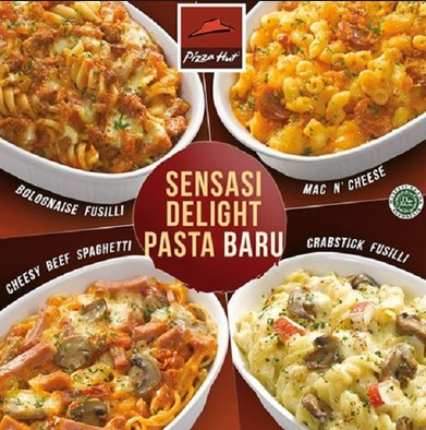 menu Delight Pasta terbaru 2018