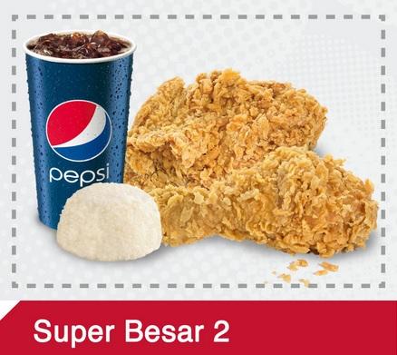menu Kombo KFC murah