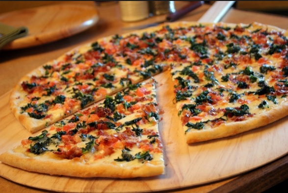 menu Pizza Amerika enak