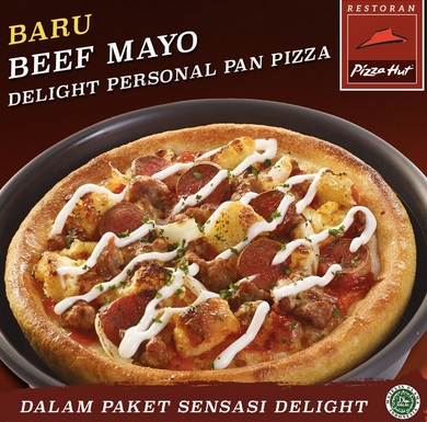 paket menu Delight Personal Pan Pizza