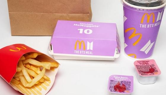 menu mcd bts meal